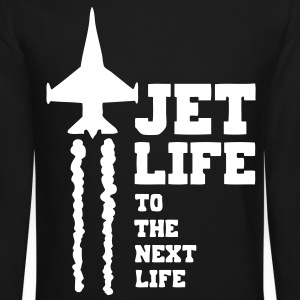 Jet Life Long Sleeve Shirts - stayflyclothing.com - Crewneck Sweatshirt