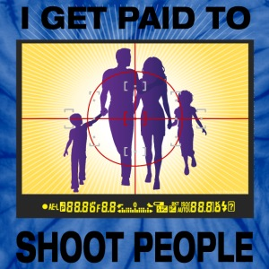 I Get Paid To Shoot People - Unisex Tie Dye T-Shirt