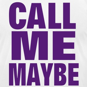 Call Me Maybe - Men's T-Shirt by American Apparel
