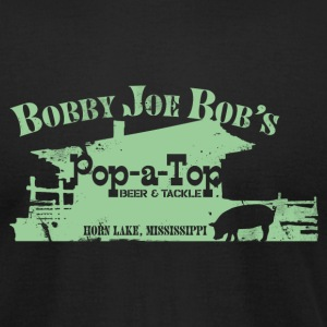 BOBBY JOE BOB'S POP-A-TOP T-Shirts - Men's T-Shirt by American Apparel