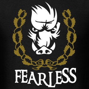 fearless_wildboar_2 T-Shirts - Men's T-Shirt