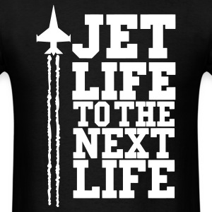 JET LIFE TO NEXT LIFE  eps T-Shirts - Men's T-Shirt