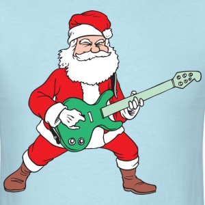 Rock and Roll Santa T-Shirts - Men's T-Shirt
