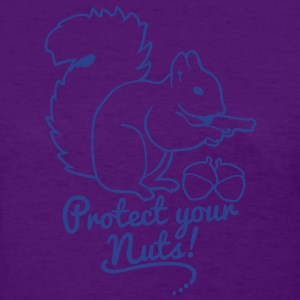 protect your nuts Women's T-Shirts - Women's T-Shirt