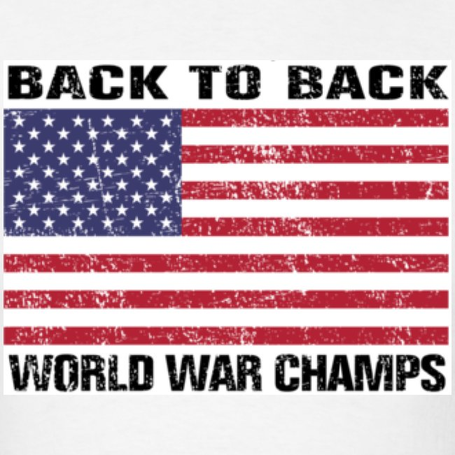 2f833b13ada Back-to-Back World War Champs (Standard T)