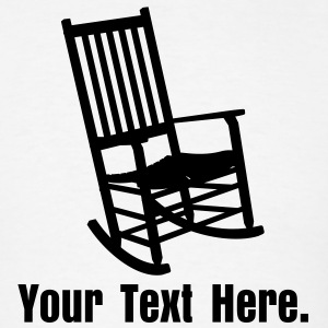 Rocking Chair VECTOR T-Shirts - Men's T-Shirt
