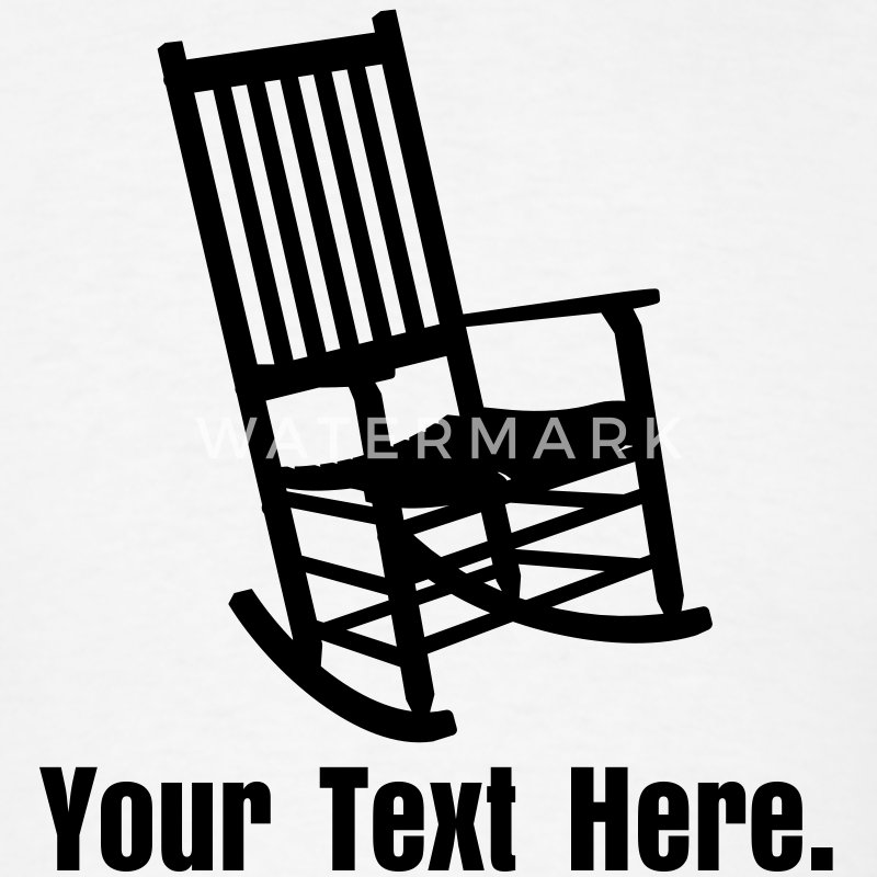 Rocking Chair VECTOR T-Shirt | Spreadshirt