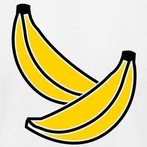BANANA fruit two bananas 2 color T-Shirts - Men's T-Shirt by American Apparel