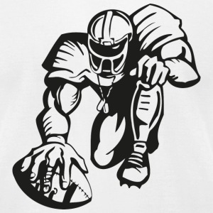 football T-Shirts - Men's T-Shirt by American Apparel
