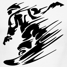snow_boarder T-Shirts