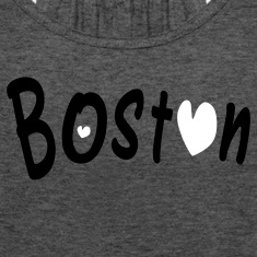 love Boston Women's Flowy Tank Top by Bella