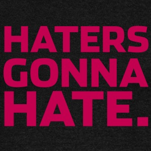 haters gonna hate Long Sleeve Shirts - Women's Wideneck Sweatshirt