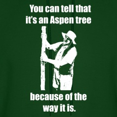"""You can tell that it's an Aspen..."" Hoodie"