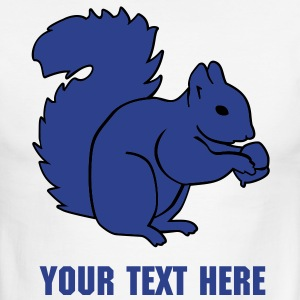 Squirrel T-Shirts - Men's Ringer T-Shirt