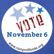 Design ~ Vote November 6 T-shirt