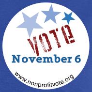 Design ~ Vote November 6 T-shirt