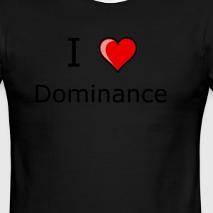 I LOVE DOMINANCE AND SUBMISSION shirt - Men's Ringer T-Shirt