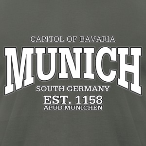 Munich Bavaria Germany (white) - Men's T-Shirt by American Apparel