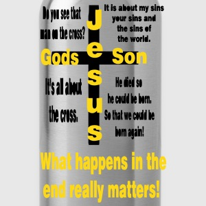 What happens in the end matters - Water Bottle