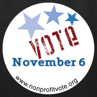 Design ~ Vote November 6 Eco-Friendly Cotton Tote