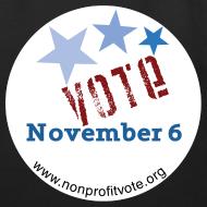 Design ~ Vote November 6 Eco-Friendly Cotton Tote