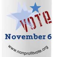 Design ~ Vote November 6 Water Bottle