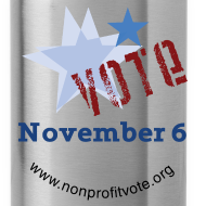 Design ~ Vote November 6 Water Bottle