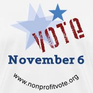 Design ~ Vote November 6 T-shirt - Women's