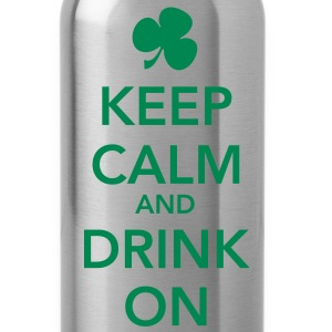 Keep Calm and Drink On Water Bottle - Water Bottle