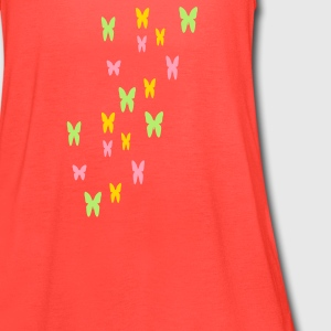 butterflies - Women's Flowy Tank Top by Bella
