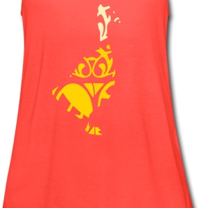 duck - Women's Flowy Tank Top by Bella