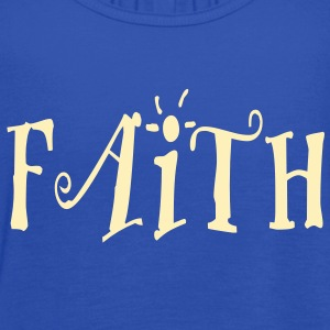 Faith.. - Women's Flowy Tank Top by Bella