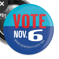 Design ~ Official Vote November 6 Button
