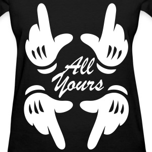 ALL YOURS Women's T-Shirts - Women's T-Shirt