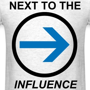 Above the Influence. Almost - Men's T-Shirt