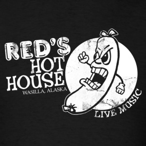RED'S HOT HOUSE T-Shirts - Men's T-Shirt