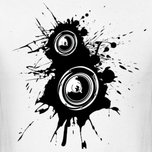 Speaker Splatter - Men's T-Shirt
