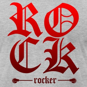 Rock Rocker - Men's T-Shirt by American Apparel