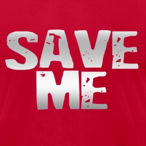 Saved Me - Men's T-Shirt by American Apparel