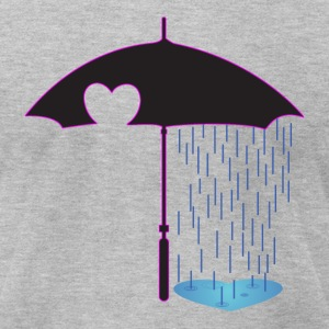 Emobrella - Men's T-Shirt by American Apparel