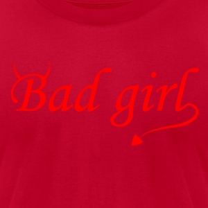 Bad Girl - Men's T-Shirt by American Apparel