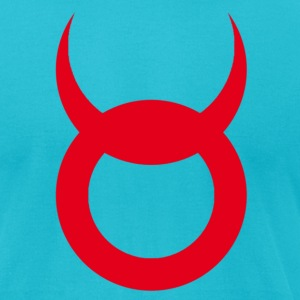 Devil Horns - Men's T-Shirt by American Apparel