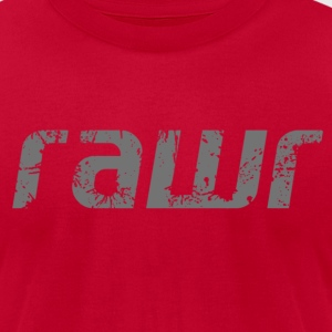 Rawr - Men's T-Shirt by American Apparel