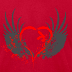Blood Wings - Men's T-Shirt by American Apparel