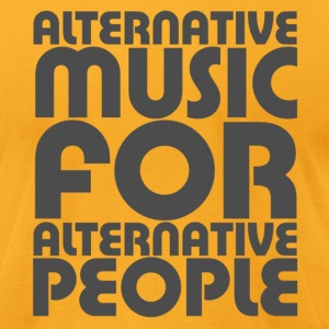 Alternative Music For Alternative People - Men's T-Shirt by American Apparel
