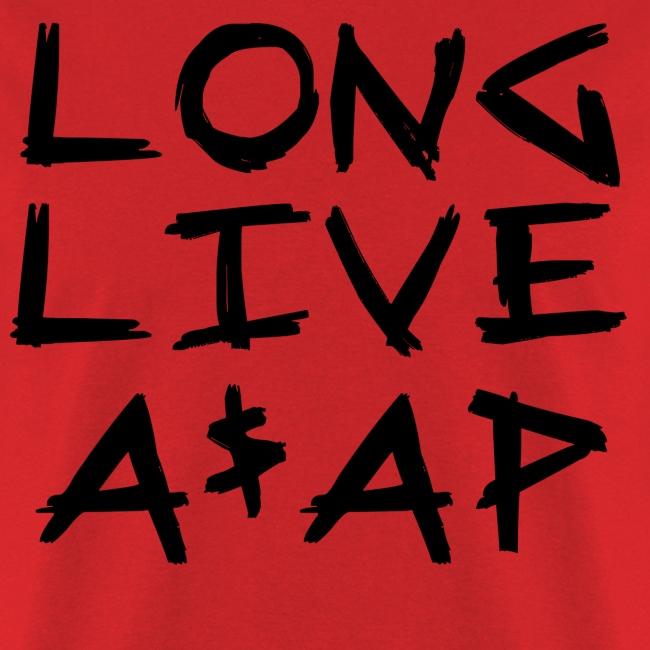 Long Live A$AP (Black / T-Shirt)