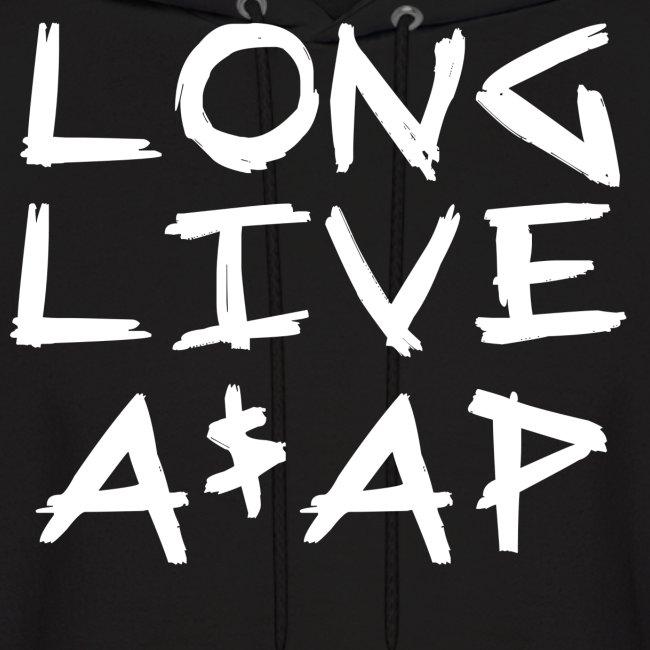 Long Live A$AP (White / Hoodie)