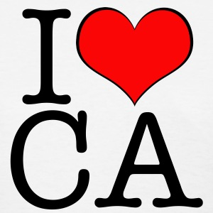 Women's I love California - Women's T-Shirt