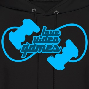 Love Video Games Hoodies - Men's Hoodie