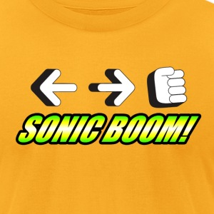 Sonic Boom T-Shirts - Men's T-Shirt by American Apparel
